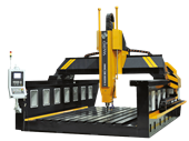 Drinns DCNC Series 3 Axis Gantry CNC Milling Machine